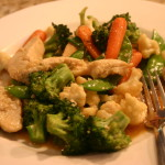 Veg Chicken Stir Fry