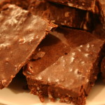 Chocolate Coconut Fudge