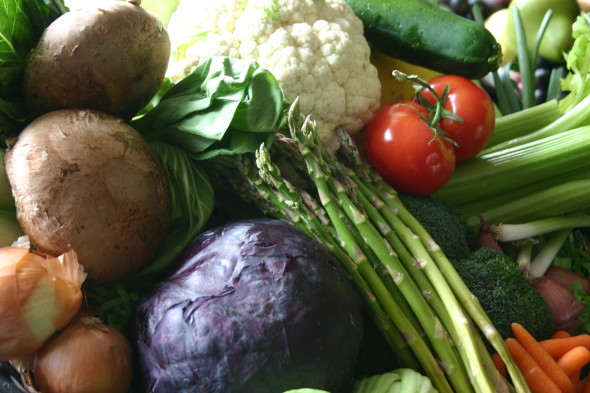 low-carb-vegetable-basket