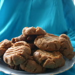 No Flour Peanut Butter Cookies