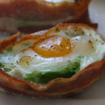 Bacon & Egg Avocado Cups