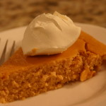 Crestless Pumpkin Pie