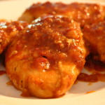 Chicken Orange Glaze